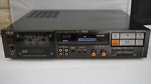 AKAI Professional mini studio GX-912 3head cassette deck Dolby B.C