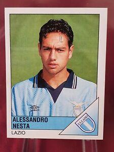 Alessandro Nesta Lazio Italy Calciatori 1995/96 Panini Rookie Sticker