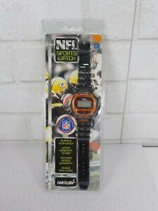 1990's Vintage Denver Broncos NFL Sports Watch by Fantasma New In the Package