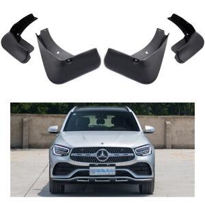Car Mud Flaps Splash Guards Fender Mudguard for 2020- Mercedes Benz GLC AMG Line