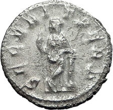 GORDIAN III 244AD Silver Authentic Genuine Ancient Roman Coin Security i60473