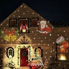 Christmas Projector LED Lights Outdoor Indoor Home Decoration Xmas Festival Lamp