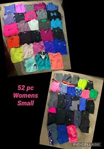 52 PC LOT Under Armour Nike Adidas Women's S small Workout Athletic Dri-fit