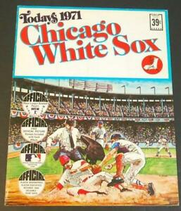 1971 Dell Today's Chicago White Sox Stamp Set & Schedule NOS