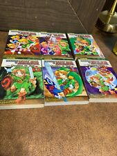 Lot of 4 ZELDA VIZKIDS  VIZ Media Manga Books Paperback