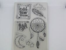 Motivstempel Dreamcatcher  Clear Stempel Kartengestaltung Basteln 15 x 10 cm