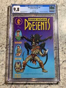 Dark Horse Presents #36 CGC 9.8 (Dark Horse Comics 1990) 1st appearance of AvP