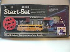Faller N 162000 Car System Start-Set Postbus gelb RARE