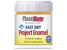 Plasti-kote - Fast Dry Enamel Paint B11 Bottle Sunshine Yellow 59ml