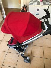 Quinny Zapp Xtra Rebel Red Travel System Single Seat Stroller