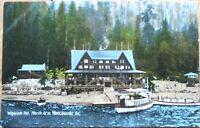 Vancouver, British Columbia/BC, Canada 1910 Postcard: Wigwam Inn, North Arm