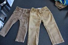 2 Boy smart trousers Zara & LC Waikiki bundle. 12-24 months. VGC. Beige brown