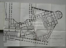 STORIA_PAPATO_LEONE XIII_CONCLAVE_CONCISTORO_VATICANO_MAPPE TOPOGRAFICHE_1899