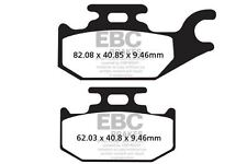 FIT CAN AM Outlander 800 (STD 4x4) (2H7A/B/C/ 07>08 EBC FRONT ORGANIC BRAKE PADS