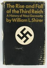 RISE AND FALL OF THE THIRD REICH W L SHIRER '60 HC BOOK
