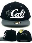 Wynn New 1954 California Republic Cali Youth Black Gray Era Snapback Hat Cap