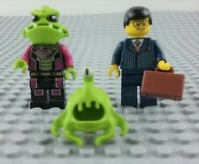 LEGO Minifigure Alien Conquest Trooper Clinger & Businessman Minifig