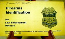 Firearms Identification for Law Enforcement Officers 1968, guns photos history