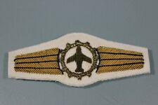 Post WW2 West German Bundeswehr Luftwaffe 1 Bronze BULLION Logistics Wings F163