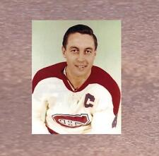 JEAN BELIVEAU MONTREAL CANADIENS 8x10 PHOTO MATE PORTRAIT