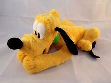 """Disneyland Walt Disney World Pluto Dog Plush 9"""" Long nose to behind"""