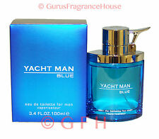 Yacht Man Blue by Myrurgia 3.4oz 3.3oz 100ml EDT Spray Mens Cologne Sealed New