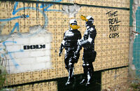 DOLK-Real Riot Cops- Graffiti street art