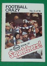 1970 FOOTBALL ESSO BOOK OF SQUELCHERS ! N°5 FOOTBALL CRAZY