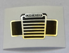 "BRITAINS LAND ROVER ""FRONT GRILL"" STICKER"