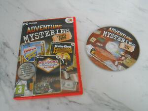 Adventure Mysteries Triple Pack (PC: Windows, 2010) VGC ** SAME DAY DISPATCH