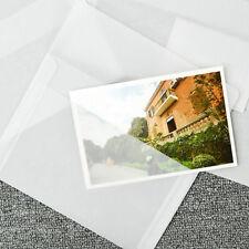 5X Translucent Sulfur Paper Envelope Message Card Letter Stationary Storage FG