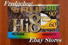 FUJI HI P5-90DS DIGITAL 8 & Hi8 VIDEO CAMCORDER TAPE / CASSETTE-  SUPERB QUALITY