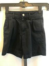 Izod Kids Boys Blue Pleated Shorts Back to School Uniform Size 6 Slim Adjust B13
