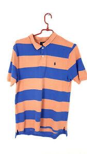 Raplh Lauren POLO Shirt Herren Blau Gr. XL (18-20) Original