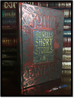 H.G. Wells Short Stories New Deluxe Hardcover The Time Machine Invisible Man +++