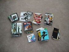 HUGE LOT OF FRENCH INSTRUCTIONS DS WII PS3 PS2 XBOX ONE FRANCAIS