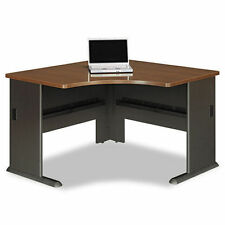 walnut bush desks u0026 home office furniture - Bush Office Furniture