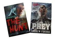 Andrew Fukuda 2 Books The Hunt + The Prey Horror SF Fiction Kids Boys Read New
