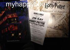 SIGNED Harry Potter and the Prisoner of Azkaban, Jim Kay, Illustrated Ed, new