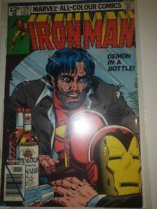 Iron man #128 Demon in a bottle