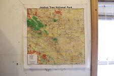 Joshua Tree National Park Topographical Map Bandana - 100% Cotton - NEW
