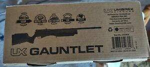 PCP Umarex Gauntlet 22 cal with upgraded moderator and barrel band