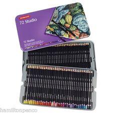 DERWENT STUDIO TIN of 72 fine colour pencils