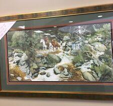 """Bev Doolittle """"FOREST HAS EYES""""-Camoflauge-Horse-Trapper-Hidden Images #158/8544"""