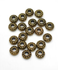 Beads Gold Etched Round Beads 18mm