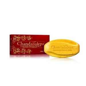 CHANDANALEPA Beauty Soap Natural Herbal Ayuruweda Healthy 100% Healthy Skin 100g