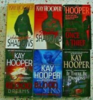 # 1 - 6 KAY HOOPER ROMANCE BOOKS NO DOUBLES FREE SHIPPING