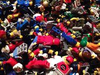 LEGO / 5 Random Mini- Figures / Clean Figs / Read Description / Lego People