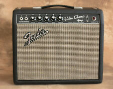 Vintage Fender Vibro Champ Amp 1967 Tube Amplifier Great Cond