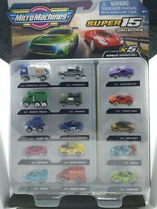 Micro Machines Super 15 Pack